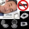 Priemonė nuo knarkimo - silikoninis magnetinis nosies spaustukas su dėžute