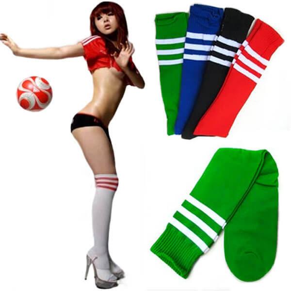 Ilgos sportinės kojinės iki kelių